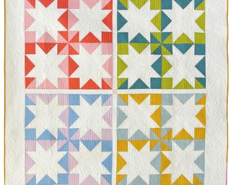 Stars Hollow Quilt Pattern by Suzy Quilts
