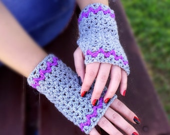 Crochet Fingerless Gloves/Fingerless mittens/Cozy handwarmers/Women gloves/Christmas gift/Autumn fashion accessories/Girlfriend-Wife gift