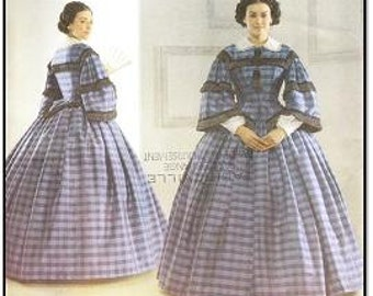 Simplicity 3727 Misses' Civil War Costume Pattern, 8-14