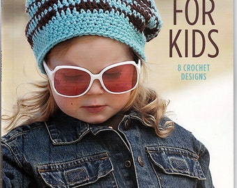 Hats for kids 8 Crochet Patterns  Leisure Arts Book 8577