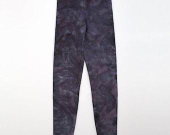 XS Dark Grey Crystal Wash Leggings