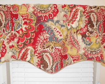 Window valance and curtains, window curtains, window valances, window curtains, curtains,red valance, Red curtains,Bedding, Bedskirts, drape