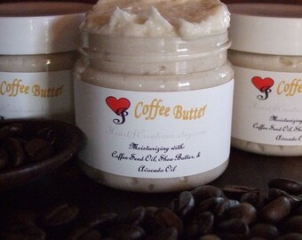 COFFEE BUTTER with Coffee Seed Oil  Avocado Oil and Shea Butter