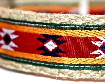 Southwest or Western Dog Collar