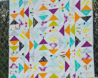Migration - Flying Geese Quilt Pattern
