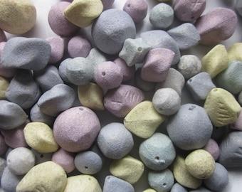 Acrylic Stone Bead Mix 9-20mm 14 Beads