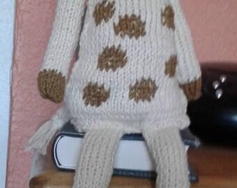Knitted Giraffe