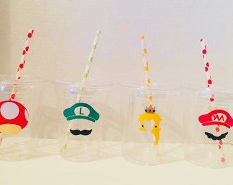 Super Mario Themed Party Cups