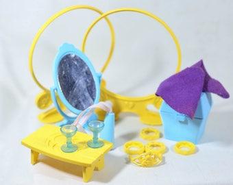 My Little Pony MLP G1 Dream Castle Accessory Lot, Vintage My Little Pony, 80s my little pony, mlp, hasbro, dream castles