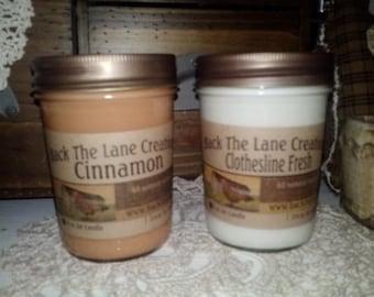 6 ounce Soy Jar Candle