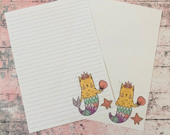 Purmaid Snail Mail Pen Pal Writing Paper