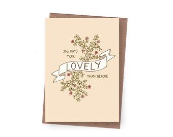 SALE 365 Days Birthday Card - 60% off