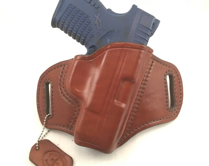Springfield XDS 3.3 - Handcrafted Leather Pistol Holster