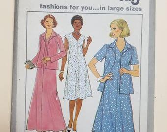 Simplicity Jiffy Pattern Size 40-46  #8401
