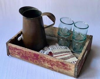 Vintage Copper Pitcher | Copper Pitcher | Copper | Pitcher | Watering Can | Vintage Gardening | Serving Ware