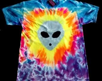 UFO Experience Alien Tie Dye
