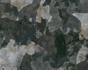 Bears in the Woods, 1 Yard, Quilt Fabric, Enchanted Pines by Robert Kaufman, 15575, McKenna Ryan Design, Black Bears, Brown Bears, in Woods