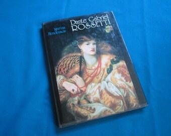 "Illustrated Hardback Art Book ""Dante Gabriel Rossetti"" by Marina Henderson"