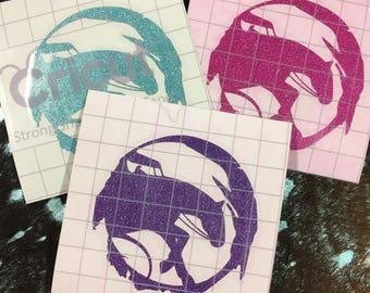 Glitter Livestock Vinyl Sticker