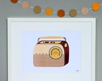 Bush Radio Print