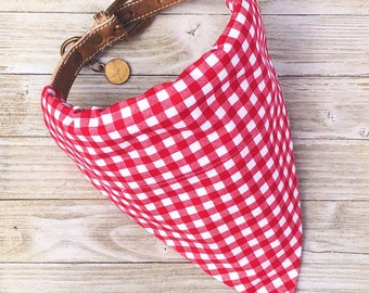 Nothings Better Than A Picnic Dog Collar Bandana
