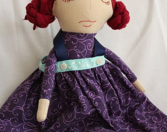 Handmade Cloth Heirloom Doll