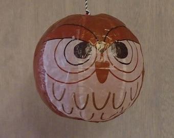 Owl Japanese Paper Balloon