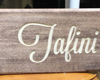 Customized Wood Sign