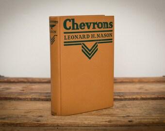 Chevrons Book, Leonard H. Nason, Chevron Stipes Cover, Vintage 20s