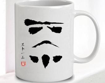 Star Wars Mug - Japanese Stormtrooper • Great Gift • 10oz Ceramic • Dishwasher Safe