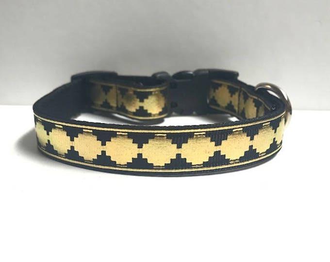 """5/8"""" Golden Aztec Collar"""