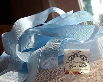 Rayon Seam Binding Ribbon Limoges Blue