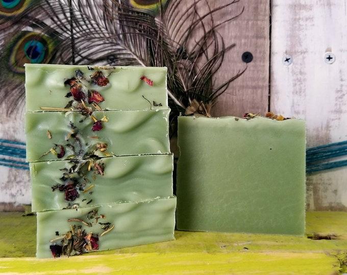 Juniper Sage Lavender Avocado Soap