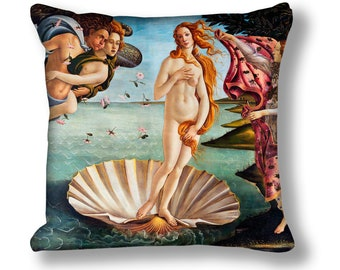 The Birth of Venus Painting Cushion Cover