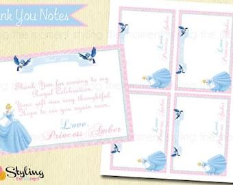 Cinderella Thank You Notes