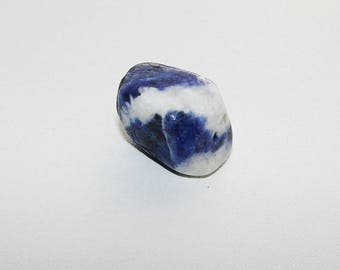 Sodalite precious rolled 20 mm, semi stone Pebble shape. (8886268)