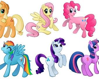 My Little Pony: Friendship is Magic Art Stickers