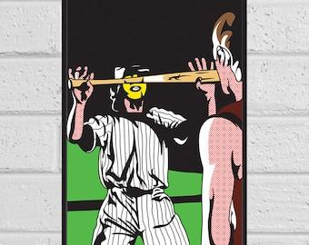 The Warriors Baseball Furies A3 print
