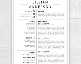 Resume Icons, Resume Design, Resume Template Word, Resume Cover Letter, Resume  Template