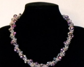 Baroque Fresh Water Pearl Caitlin Necklace