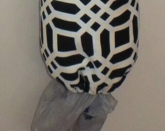Homemade Grocery Bag Holder / Carrier Bag Storage / Plastic Bag Storage