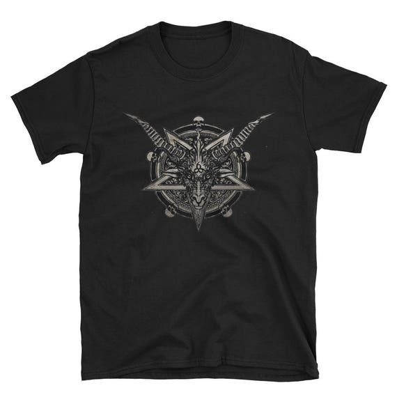 666 Baphomet Short-Sleeve Unisex T-Shirt