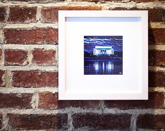 Lincoln Memorial, Washington DC: Framed Fine Art Print
