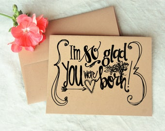 Birthday Cards (Set of 10) Handmade Greeting Card, Blank Card, Hand Drawn, Just Because Card, Encouragement Card, I Love You Card