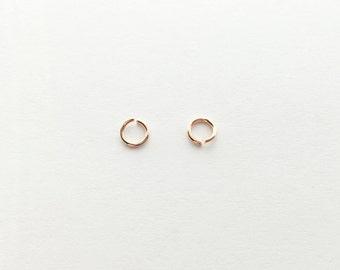 Rosegold O Jump Rings - 10 grams 10GJO-R