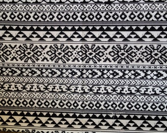 Aztec Fabric | Native Fabric | Tribal Fabric | Ethnic Fabric | BOHO Bohemian Style | fabric by the yard - 1 Yard (#5)
