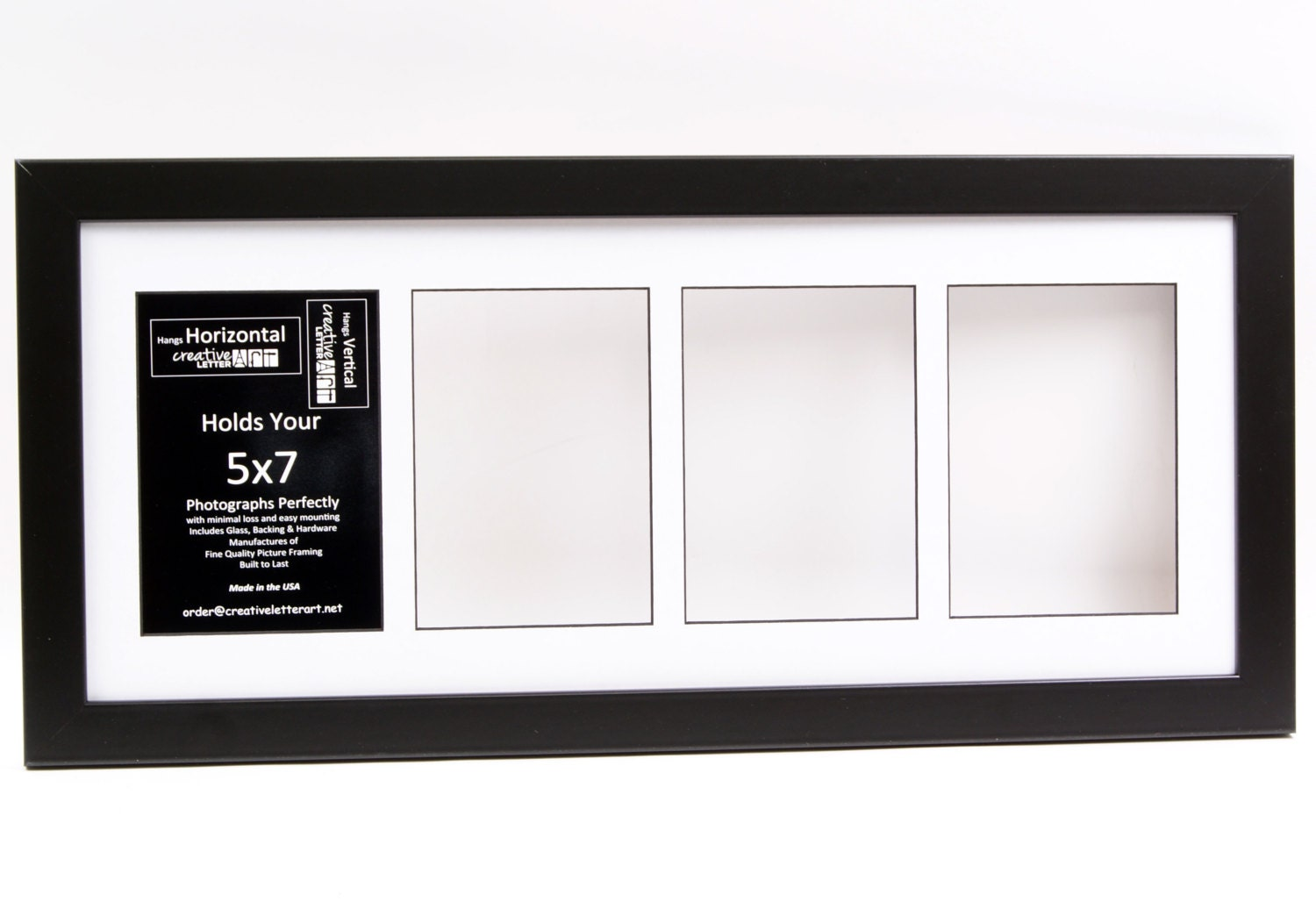 5x7 multiple 3 4 5 6 7 8 9 10 opening black picture frame with zoom jeuxipadfo Images