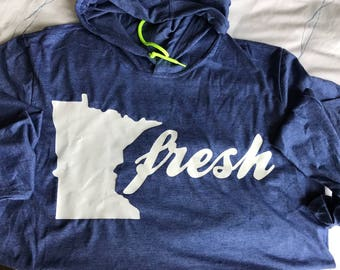MN Fresh hooded T-shirt