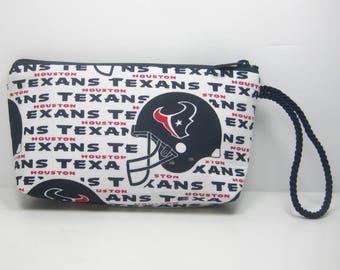 Houston Texans Wallet Wristlet Pouch
