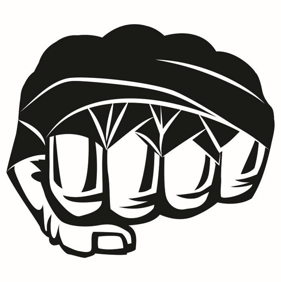 mma 1 taped fist fight fighting fighter mixed martial arts rh etsy com mma clip art free mma clip art free